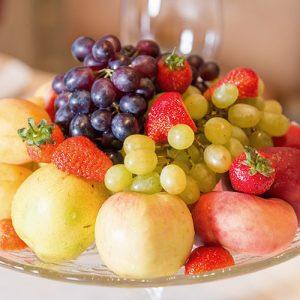 Früchtefasten im Süden | Obstteller Madeira