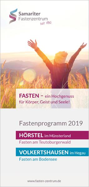 Samariter Fastenzentrum Fastenprogramm 2019